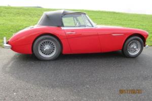 1963 Austin Healey 3000 BJ7 Mark II 2+2 Sports Convertible