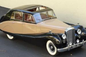 1955 Bentley R TYPE FREESTONE WEBB ALUMINUM BODY