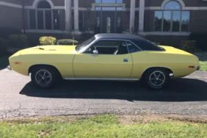 "1973 Plymouth Barracuda true ""cuda"""