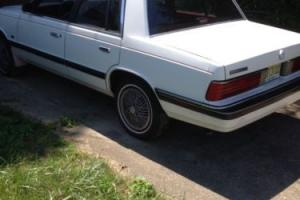 1987 Plymouth reliant le
