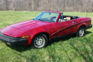 1979 Triumph TR7 Convertible for Sale