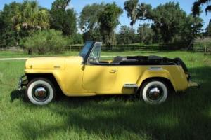 1948 Willys Jeepster Roadster Photo