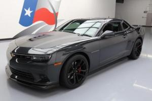 2014 Chevrolet Camaro 2SS 1LE PERF 6-SPD HTD LEATHER