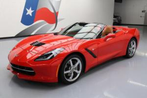 2015 Chevrolet Corvette 3LT CONVERTIBLE AUTO NAV HUD Photo