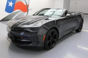 2016 Chevrolet Camaro LT RS CONVERTIBLE 6-SPD REAR CAM 20'S