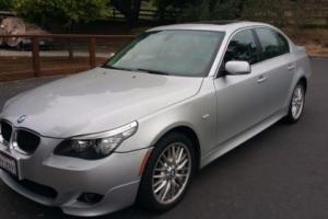 2008 BMW 5-Series 4 door sedan Photo