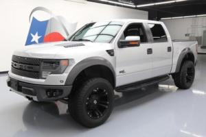 2014 Ford F-150 SVT RAPTOR CREW 4X4 SUNROOF NAV 20'S