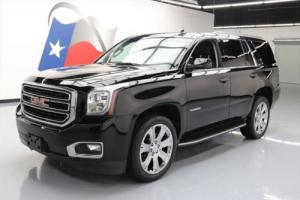 2017 GMC Yukon SLT 4X4 LEATHER NAV REAR CAM 22'S
