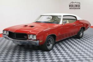 1970 Buick GS 455 STAGE 1. POSI. RESTORED. DOCUMENTED. RARE