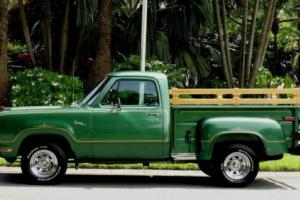 1978 Dodge Other Pickups CUSTOM D150 WARLOCK EDITION