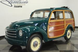 1951 Fiat Topolino Giardiniera Photo