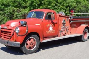 1953 GMC G90 Pumper Photo