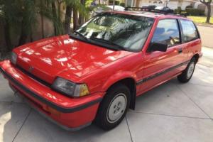 1986 Honda Civic Photo