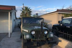 1953 Jeep Willy M38A1 Photo