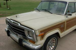 1986 Jeep Wagoneer Photo