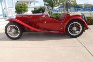 1947 MG T-Series Photo