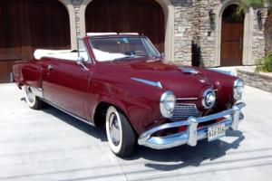 1951 Studebaker Commander Bullet Nose Convertible Photo