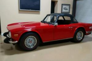 1974 Triumph TR-6 Photo