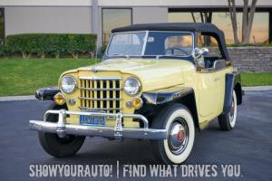 1950 Willys Jeepster -- Photo