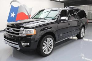 2015 Ford Expedition EL PLATINUM ECOBOOST 4X4 NAV