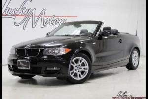 2008 BMW 1-Series 128i Convertible Clean Carfax!