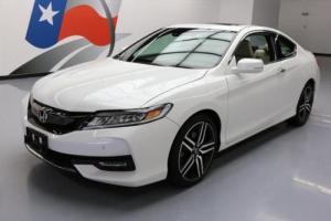 2016 Honda Accord TOURING COUPE LEATHER SUNROOF NAV
