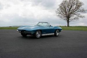 1967 Chevrolet Corvette *MarinaBlue/BlueConv*#smatch327/300hp*4spd* Photo