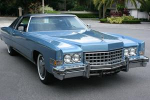 1973 Cadillac Eldorado COUPE - 67K Photo