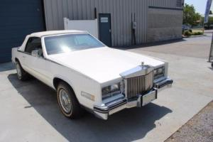 1985 Cadillac Eldorado Biarritz 4.1L V8 2 Door Convertible Photo