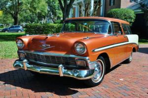 1956 Chevrolet Nomad Simply Stunning Restoration! V8 Automatic! for Sale