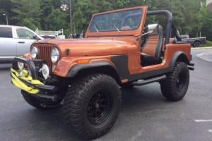 1981 Jeep CJ CJ7 Photo