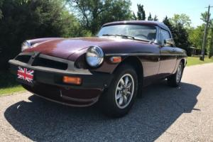 1978 MG MGB -- Photo