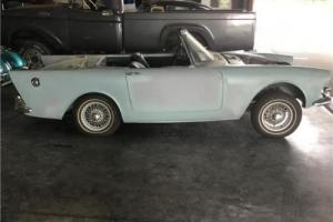 1962 Sunbeam Alpine Series II -- Photo
