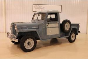 1948 Willys Pickup -- Photo