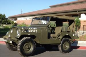 1952 Jeep M38 MILITARY SPECIAL Photo