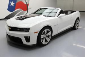 2013 Chevrolet Camaro ZL1 CONVERTIBLE S/C NAV HUD 20'S for Sale