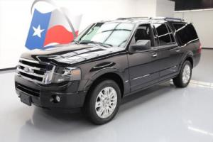 2014 Ford Expedition EL LTD 4X4 LEATHER NAV 20'S