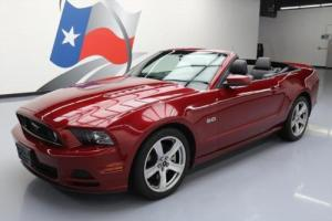 2014 Ford Mustang GT CONVERTIBLE 5.0L BLUETOOTH NAV