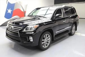 2014 Lexus LX LUXURY 4X4 8-PASS SUNROOF NAV DVD 20'S