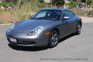 2001 Porsche 911 2dr Carrera Coupe 6-Speed Manual