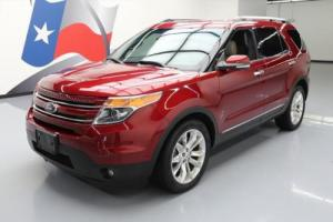 2014 Ford Explorer LIMITED DUAL SUNROOF NAV LEATHER