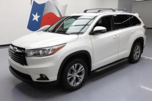2015 Toyota Highlander XLE SUNROOF HTD SEATS NAV