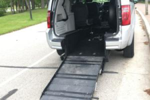 2008 Dodge Caravan REAR RAMP WHEELCHAIR VAN