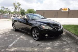 2010 Lexus IS IS 250 C CONVERTIBLE RWD