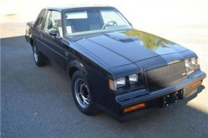 1987 Buick Regal Grand National -- Photo