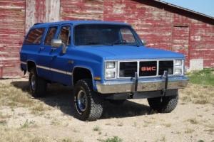 1987 GMC Suburban Sububan Sierra Classic Photo