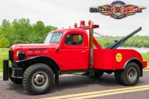1942 Other Other Power Wagon Tow Truck Photo