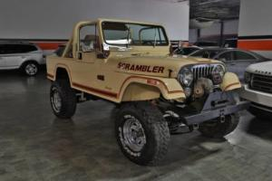 1981 Jeep CJ8 SCRAMBLER 4WD 2DR SUV Photo