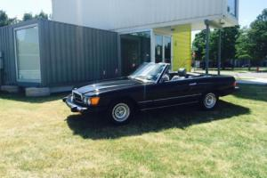 1984 Mercedes-Benz SL-Class Convertible hardtop Photo