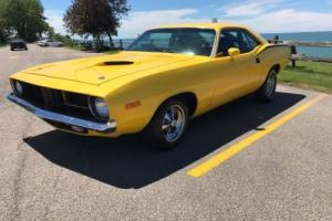 "1973 Plymouth Barracuda true ""cuda"" Photo"